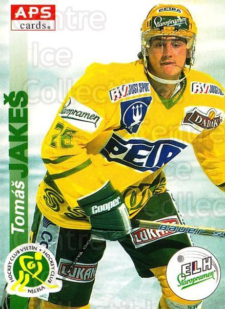 1996-97 Czech APS Extraliga #221 Tomas Jakes<br/>1 In Stock - $2.00 each - <a href=https://centericecollectibles.foxycart.com/cart?name=1996-97%20Czech%20APS%20Extraliga%20%23221%20Tomas%20Jakes...&quantity_max=1&price=$2.00&code=608413 class=foxycart> Buy it now! </a>