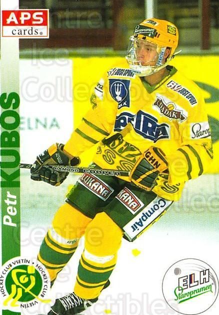 1996-97 Czech APS Extraliga #222 Petr Kubox<br/>1 In Stock - $2.00 each - <a href=https://centericecollectibles.foxycart.com/cart?name=1996-97%20Czech%20APS%20Extraliga%20%23222%20Petr%20Kubox...&quantity_max=1&price=$2.00&code=608414 class=foxycart> Buy it now! </a>