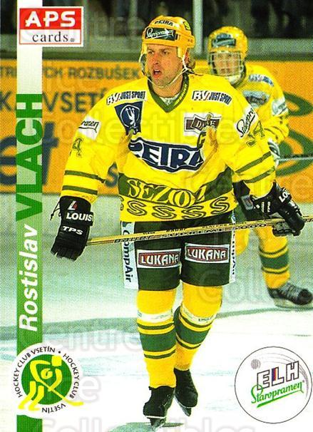 1996-97 Czech APS Extraliga #224 Rostislav Vlach<br/>1 In Stock - $2.00 each - <a href=https://centericecollectibles.foxycart.com/cart?name=1996-97%20Czech%20APS%20Extraliga%20%23224%20Rostislav%20Vlach...&quantity_max=1&price=$2.00&code=608416 class=foxycart> Buy it now! </a>
