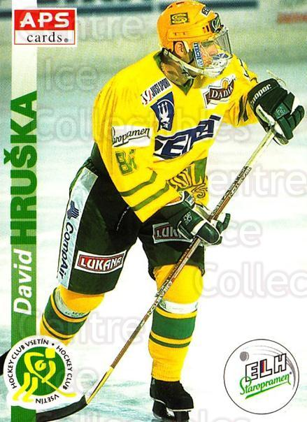 1996-97 Czech APS Extraliga #234 David Hruska<br/>1 In Stock - $2.00 each - <a href=https://centericecollectibles.foxycart.com/cart?name=1996-97%20Czech%20APS%20Extraliga%20%23234%20David%20Hruska...&quantity_max=1&price=$2.00&code=608426 class=foxycart> Buy it now! </a>