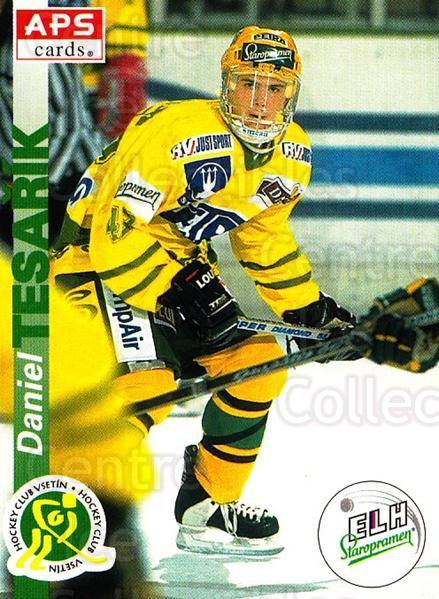 1996-97 Czech APS Extraliga #235 Daniel Tesarik<br/>1 In Stock - $2.00 each - <a href=https://centericecollectibles.foxycart.com/cart?name=1996-97%20Czech%20APS%20Extraliga%20%23235%20Daniel%20Tesarik...&quantity_max=1&price=$2.00&code=608427 class=foxycart> Buy it now! </a>