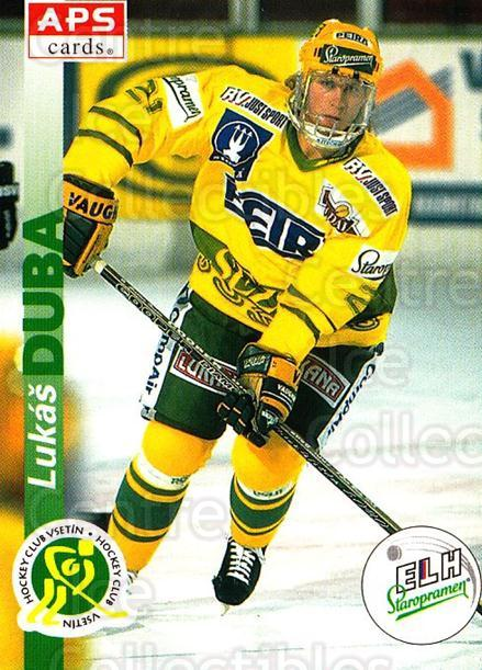 1996-97 Czech APS Extraliga #236 Lukas Duba<br/>2 In Stock - $2.00 each - <a href=https://centericecollectibles.foxycart.com/cart?name=1996-97%20Czech%20APS%20Extraliga%20%23236%20Lukas%20Duba...&quantity_max=2&price=$2.00&code=608428 class=foxycart> Buy it now! </a>
