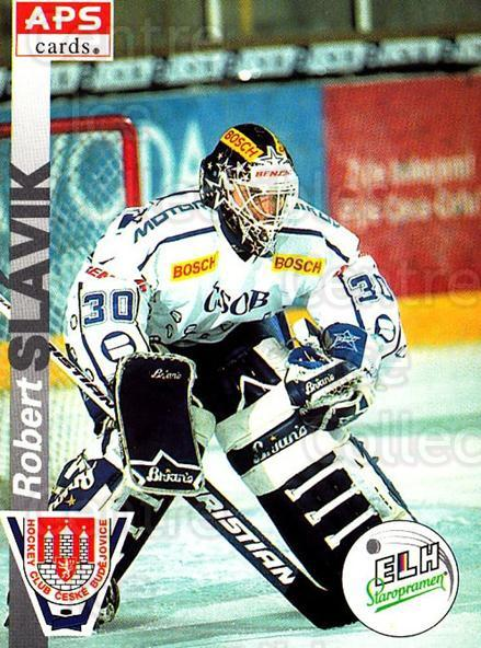 1996-97 Czech APS Extraliga #240 Robert Slavik<br/>2 In Stock - $2.00 each - <a href=https://centericecollectibles.foxycart.com/cart?name=1996-97%20Czech%20APS%20Extraliga%20%23240%20Robert%20Slavik...&quantity_max=2&price=$2.00&code=608432 class=foxycart> Buy it now! </a>