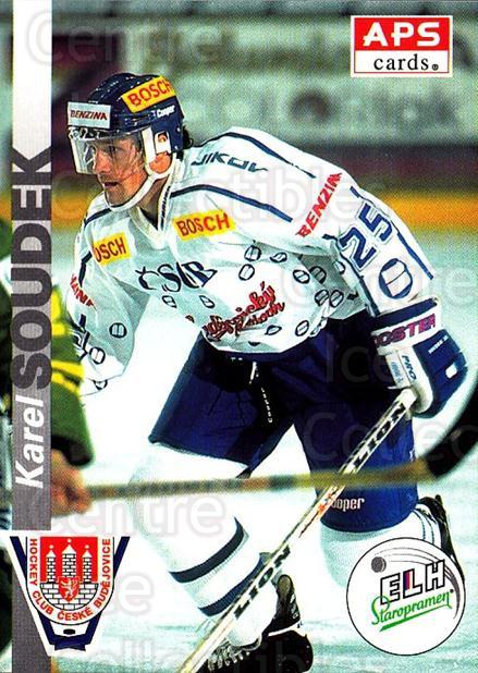 1996-97 Czech APS Extraliga #242 Karel Soudek<br/>1 In Stock - $2.00 each - <a href=https://centericecollectibles.foxycart.com/cart?name=1996-97%20Czech%20APS%20Extraliga%20%23242%20Karel%20Soudek...&quantity_max=1&price=$2.00&code=608434 class=foxycart> Buy it now! </a>