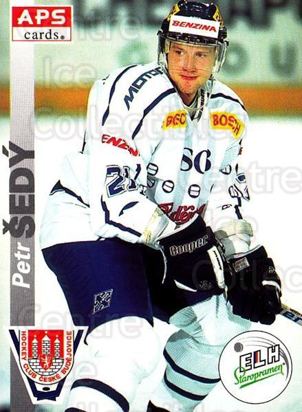 1996-97 Czech APS Extraliga #245 Petr Sedy<br/>1 In Stock - $2.00 each - <a href=https://centericecollectibles.foxycart.com/cart?name=1996-97%20Czech%20APS%20Extraliga%20%23245%20Petr%20Sedy...&quantity_max=1&price=$2.00&code=608437 class=foxycart> Buy it now! </a>