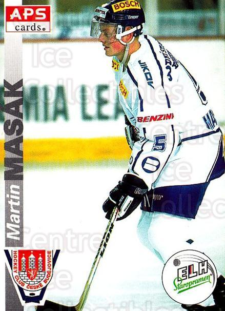1996-97 Czech APS Extraliga #247 Martin Masak<br/>1 In Stock - $2.00 each - <a href=https://centericecollectibles.foxycart.com/cart?name=1996-97%20Czech%20APS%20Extraliga%20%23247%20Martin%20Masak...&quantity_max=1&price=$2.00&code=608439 class=foxycart> Buy it now! </a>