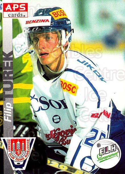 1996-97 Czech APS Extraliga #253 Filip Turek<br/>1 In Stock - $2.00 each - <a href=https://centericecollectibles.foxycart.com/cart?name=1996-97%20Czech%20APS%20Extraliga%20%23253%20Filip%20Turek...&quantity_max=1&price=$2.00&code=608445 class=foxycart> Buy it now! </a>