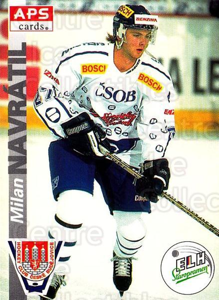 1996-97 Czech APS Extraliga #257 Milan Navratil<br/>1 In Stock - $2.00 each - <a href=https://centericecollectibles.foxycart.com/cart?name=1996-97%20Czech%20APS%20Extraliga%20%23257%20Milan%20Navratil...&quantity_max=1&price=$2.00&code=608449 class=foxycart> Buy it now! </a>