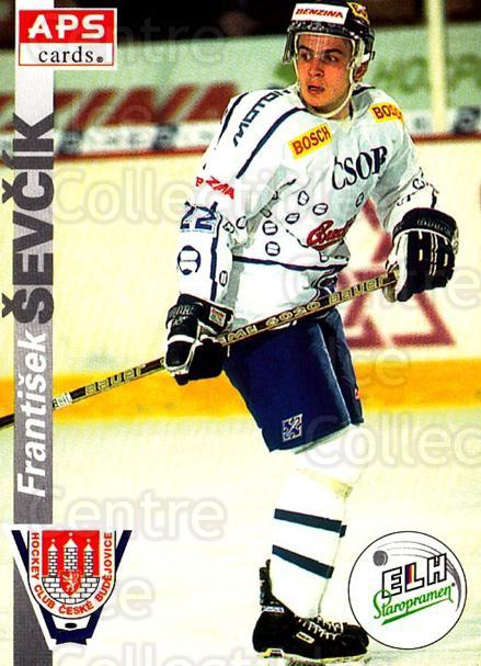 1996-97 Czech APS Extraliga #258 Frantisek Sevcik<br/>3 In Stock - $2.00 each - <a href=https://centericecollectibles.foxycart.com/cart?name=1996-97%20Czech%20APS%20Extraliga%20%23258%20Frantisek%20Sevci...&quantity_max=3&price=$2.00&code=608450 class=foxycart> Buy it now! </a>
