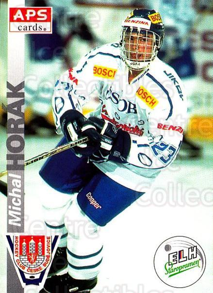 1996-97 Czech APS Extraliga #260 Michal Horak<br/>1 In Stock - $2.00 each - <a href=https://centericecollectibles.foxycart.com/cart?name=1996-97%20Czech%20APS%20Extraliga%20%23260%20Michal%20Horak...&quantity_max=1&price=$2.00&code=608452 class=foxycart> Buy it now! </a>