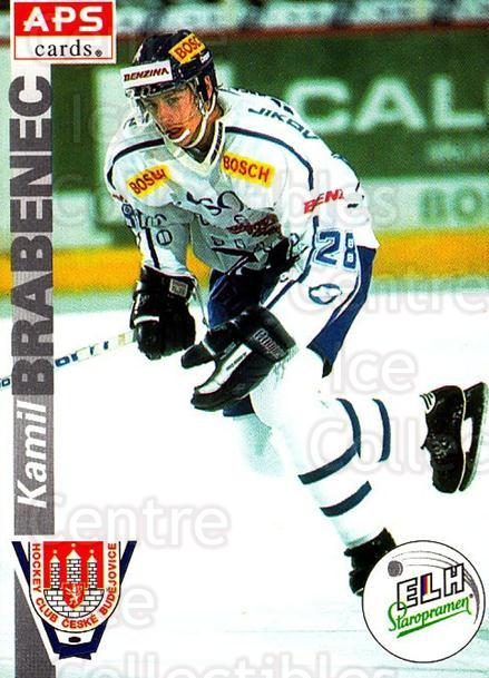 1996-97 Czech APS Extraliga #261 Kamil Brabenec<br/>1 In Stock - $2.00 each - <a href=https://centericecollectibles.foxycart.com/cart?name=1996-97%20Czech%20APS%20Extraliga%20%23261%20Kamil%20Brabenec...&quantity_max=1&price=$2.00&code=608453 class=foxycart> Buy it now! </a>
