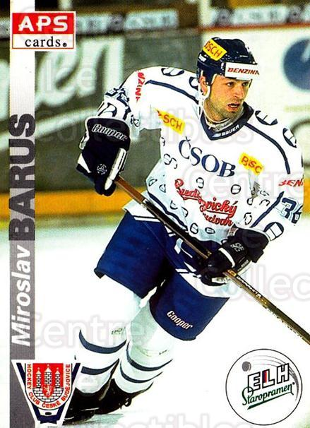 1996-97 Czech APS Extraliga #262 Miroslav Barus<br/>1 In Stock - $2.00 each - <a href=https://centericecollectibles.foxycart.com/cart?name=1996-97%20Czech%20APS%20Extraliga%20%23262%20Miroslav%20Barus...&quantity_max=1&price=$2.00&code=608454 class=foxycart> Buy it now! </a>