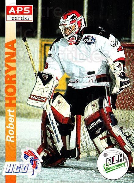 1996-97 Czech APS Extraliga #266 Robert Horyna<br/>1 In Stock - $2.00 each - <a href=https://centericecollectibles.foxycart.com/cart?name=1996-97%20Czech%20APS%20Extraliga%20%23266%20Robert%20Horyna...&quantity_max=1&price=$2.00&code=608458 class=foxycart> Buy it now! </a>