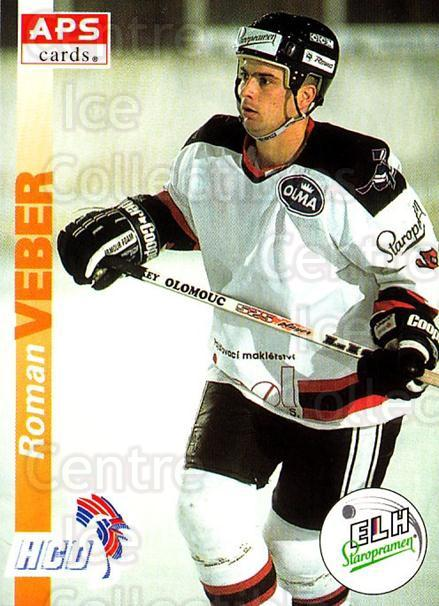 1996-97 Czech APS Extraliga #268 Roman Veber<br/>1 In Stock - $2.00 each - <a href=https://centericecollectibles.foxycart.com/cart?name=1996-97%20Czech%20APS%20Extraliga%20%23268%20Roman%20Veber...&quantity_max=1&price=$2.00&code=608460 class=foxycart> Buy it now! </a>
