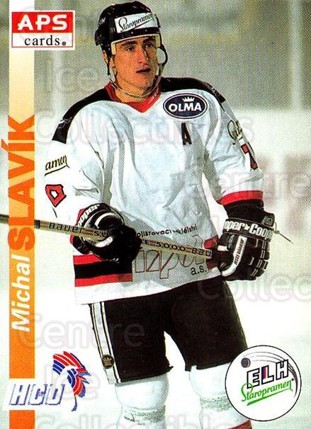 1996-97 Czech APS Extraliga #274 Michal Slavik<br/>2 In Stock - $2.00 each - <a href=https://centericecollectibles.foxycart.com/cart?name=1996-97%20Czech%20APS%20Extraliga%20%23274%20Michal%20Slavik...&quantity_max=2&price=$2.00&code=608466 class=foxycart> Buy it now! </a>