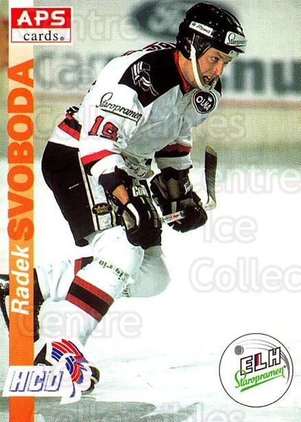 1996-97 Czech APS Extraliga #280 Radek Svoboda<br/>2 In Stock - $2.00 each - <a href=https://centericecollectibles.foxycart.com/cart?name=1996-97%20Czech%20APS%20Extraliga%20%23280%20Radek%20Svoboda...&quantity_max=2&price=$2.00&code=608472 class=foxycart> Buy it now! </a>