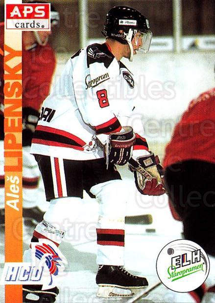 1996-97 Czech APS Extraliga #282 Ales Lipensky<br/>3 In Stock - $2.00 each - <a href=https://centericecollectibles.foxycart.com/cart?name=1996-97%20Czech%20APS%20Extraliga%20%23282%20Ales%20Lipensky...&quantity_max=3&price=$2.00&code=608474 class=foxycart> Buy it now! </a>