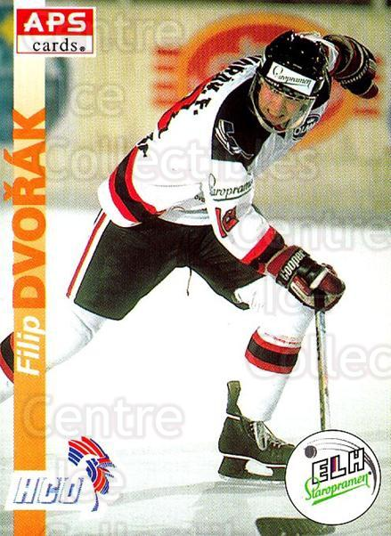 1996-97 Czech APS Extraliga #283 Filip Dvorak<br/>3 In Stock - $2.00 each - <a href=https://centericecollectibles.foxycart.com/cart?name=1996-97%20Czech%20APS%20Extraliga%20%23283%20Filip%20Dvorak...&quantity_max=3&price=$2.00&code=608475 class=foxycart> Buy it now! </a>