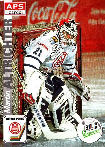 1996-97 Czech APS Extraliga #288 Martin Altrichter<br/>1 In Stock - $2.00 each - <a href=https://centericecollectibles.foxycart.com/cart?name=1996-97%20Czech%20APS%20Extraliga%20%23288%20Martin%20Altricht...&quantity_max=1&price=$2.00&code=608480 class=foxycart> Buy it now! </a>