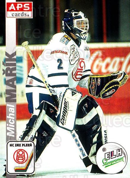 1996-97 Czech APS Extraliga #289 Michal Marik<br/>1 In Stock - $2.00 each - <a href=https://centericecollectibles.foxycart.com/cart?name=1996-97%20Czech%20APS%20Extraliga%20%23289%20Michal%20Marik...&quantity_max=1&price=$2.00&code=608481 class=foxycart> Buy it now! </a>
