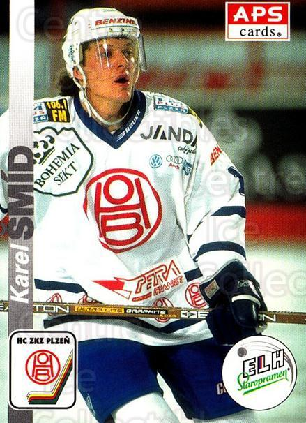 1996-97 Czech APS Extraliga #292 Karel Smid<br/>1 In Stock - $2.00 each - <a href=https://centericecollectibles.foxycart.com/cart?name=1996-97%20Czech%20APS%20Extraliga%20%23292%20Karel%20Smid...&quantity_max=1&price=$2.00&code=608484 class=foxycart> Buy it now! </a>