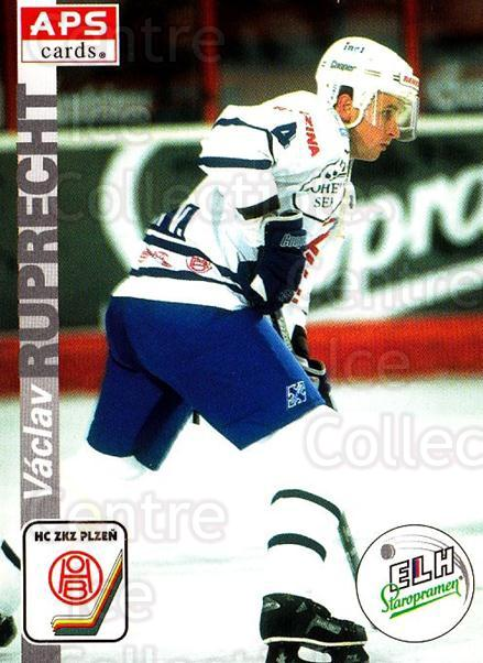 1996-97 Czech APS Extraliga #293 Vaclav Ruprecht<br/>1 In Stock - $2.00 each - <a href=https://centericecollectibles.foxycart.com/cart?name=1996-97%20Czech%20APS%20Extraliga%20%23293%20Vaclav%20Ruprecht...&quantity_max=1&price=$2.00&code=608485 class=foxycart> Buy it now! </a>