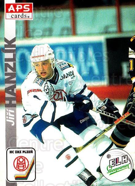 1996-97 Czech APS Extraliga #295 Jiri Hanzlik<br/>1 In Stock - $2.00 each - <a href=https://centericecollectibles.foxycart.com/cart?name=1996-97%20Czech%20APS%20Extraliga%20%23295%20Jiri%20Hanzlik...&quantity_max=1&price=$2.00&code=608487 class=foxycart> Buy it now! </a>
