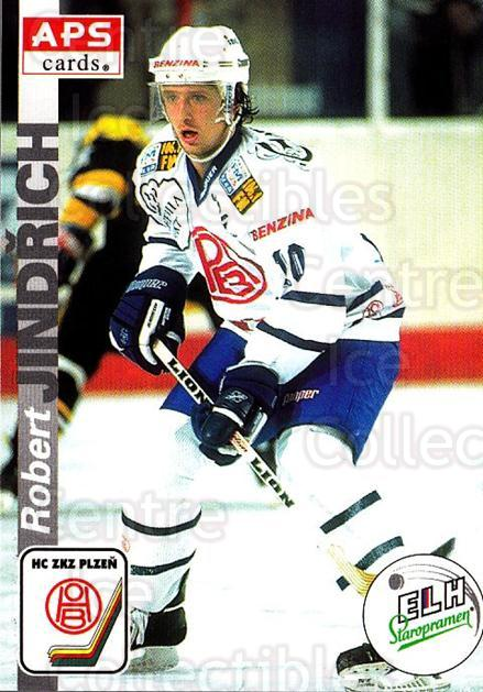 1996-97 Czech APS Extraliga #296 Robert Jindrich<br/>1 In Stock - $2.00 each - <a href=https://centericecollectibles.foxycart.com/cart?name=1996-97%20Czech%20APS%20Extraliga%20%23296%20Robert%20Jindrich...&quantity_max=1&price=$2.00&code=608488 class=foxycart> Buy it now! </a>