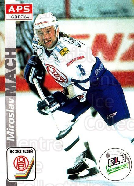 1996-97 Czech APS Extraliga #300 Miroslav Mach<br/>1 In Stock - $2.00 each - <a href=https://centericecollectibles.foxycart.com/cart?name=1996-97%20Czech%20APS%20Extraliga%20%23300%20Miroslav%20Mach...&quantity_max=1&price=$2.00&code=608492 class=foxycart> Buy it now! </a>