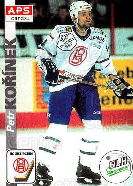 1996-97 Czech APS Extraliga #301 Petr Korinek<br/>1 In Stock - $2.00 each - <a href=https://centericecollectibles.foxycart.com/cart?name=1996-97%20Czech%20APS%20Extraliga%20%23301%20Petr%20Korinek...&quantity_max=1&price=$2.00&code=608493 class=foxycart> Buy it now! </a>