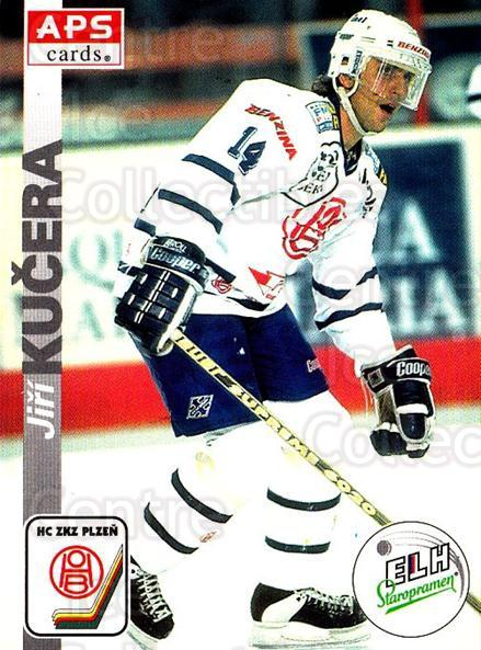1996-97 Czech APS Extraliga #302 Jiri Kucera<br/>1 In Stock - $2.00 each - <a href=https://centericecollectibles.foxycart.com/cart?name=1996-97%20Czech%20APS%20Extraliga%20%23302%20Jiri%20Kucera...&quantity_max=1&price=$2.00&code=608494 class=foxycart> Buy it now! </a>