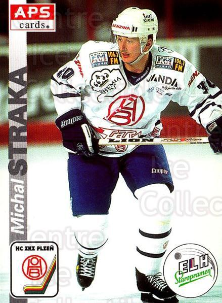 1996-97 Czech APS Extraliga #303 Michal Straka<br/>1 In Stock - $2.00 each - <a href=https://centericecollectibles.foxycart.com/cart?name=1996-97%20Czech%20APS%20Extraliga%20%23303%20Michal%20Straka...&quantity_max=1&price=$2.00&code=608495 class=foxycart> Buy it now! </a>