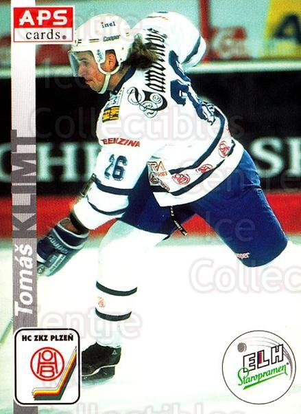 1996-97 Czech APS Extraliga #304 Tomas Klimt<br/>1 In Stock - $2.00 each - <a href=https://centericecollectibles.foxycart.com/cart?name=1996-97%20Czech%20APS%20Extraliga%20%23304%20Tomas%20Klimt...&quantity_max=1&price=$2.00&code=608496 class=foxycart> Buy it now! </a>