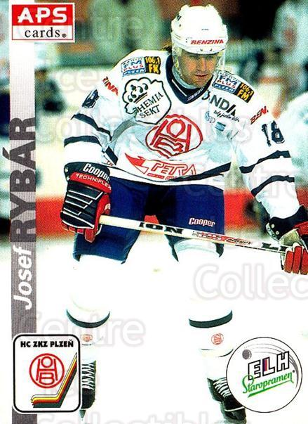1996-97 Czech APS Extraliga #305 Josef Rybar<br/>5 In Stock - $2.00 each - <a href=https://centericecollectibles.foxycart.com/cart?name=1996-97%20Czech%20APS%20Extraliga%20%23305%20Josef%20Rybar...&quantity_max=5&price=$2.00&code=608497 class=foxycart> Buy it now! </a>
