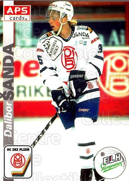 1996-97 Czech APS Extraliga #306 Dalibor Sanda<br/>2 In Stock - $2.00 each - <a href=https://centericecollectibles.foxycart.com/cart?name=1996-97%20Czech%20APS%20Extraliga%20%23306%20Dalibor%20Sanda...&quantity_max=2&price=$2.00&code=608498 class=foxycart> Buy it now! </a>
