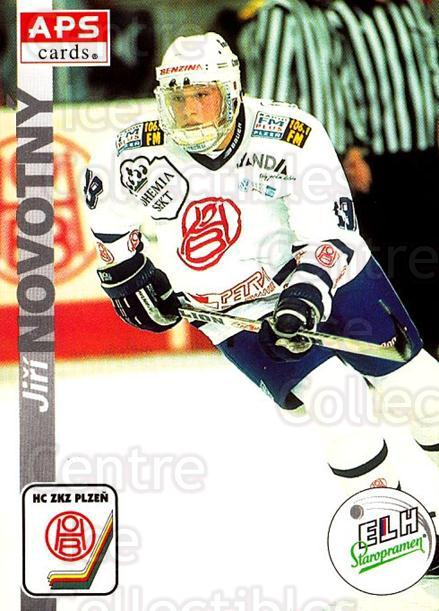 1996-97 Czech APS Extraliga #307 Jiri Novotny<br/>1 In Stock - $2.00 each - <a href=https://centericecollectibles.foxycart.com/cart?name=1996-97%20Czech%20APS%20Extraliga%20%23307%20Jiri%20Novotny...&quantity_max=1&price=$2.00&code=608499 class=foxycart> Buy it now! </a>