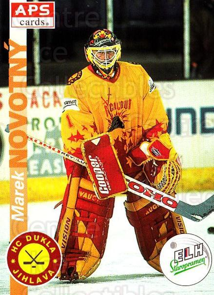 1996-97 Czech APS Extraliga #312 Marek Novotny<br/>1 In Stock - $2.00 each - <a href=https://centericecollectibles.foxycart.com/cart?name=1996-97%20Czech%20APS%20Extraliga%20%23312%20Marek%20Novotny...&quantity_max=1&price=$2.00&code=608504 class=foxycart> Buy it now! </a>