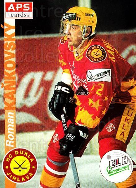 1996-97 Czech APS Extraliga #313 Roman Kankovsky<br/>2 In Stock - $2.00 each - <a href=https://centericecollectibles.foxycart.com/cart?name=1996-97%20Czech%20APS%20Extraliga%20%23313%20Roman%20Kankovsky...&quantity_max=2&price=$2.00&code=608505 class=foxycart> Buy it now! </a>
