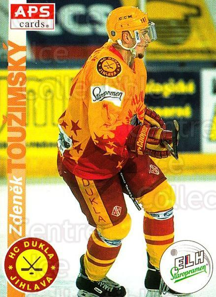 1996-97 Czech APS Extraliga #316 Zdenek Touzimsky<br/>2 In Stock - $2.00 each - <a href=https://centericecollectibles.foxycart.com/cart?name=1996-97%20Czech%20APS%20Extraliga%20%23316%20Zdenek%20Touzimsk...&quantity_max=2&price=$2.00&code=608508 class=foxycart> Buy it now! </a>