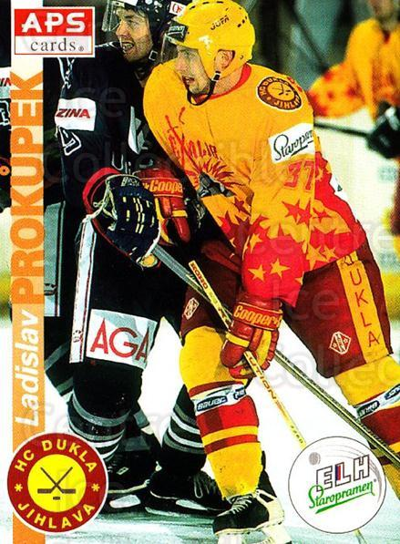 1996-97 Czech APS Extraliga #327 Ladislav Prokupek<br/>2 In Stock - $2.00 each - <a href=https://centericecollectibles.foxycart.com/cart?name=1996-97%20Czech%20APS%20Extraliga%20%23327%20Ladislav%20Prokup...&quantity_max=2&price=$2.00&code=608519 class=foxycart> Buy it now! </a>