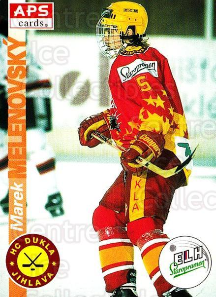 1996-97 Czech APS Extraliga #329 Marek Melenovsky<br/>2 In Stock - $2.00 each - <a href=https://centericecollectibles.foxycart.com/cart?name=1996-97%20Czech%20APS%20Extraliga%20%23329%20Marek%20Melenovsk...&quantity_max=2&price=$2.00&code=608521 class=foxycart> Buy it now! </a>