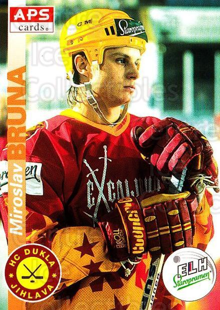 1996-97 Czech APS Extraliga #332 Miroslav Bruna<br/>2 In Stock - $2.00 each - <a href=https://centericecollectibles.foxycart.com/cart?name=1996-97%20Czech%20APS%20Extraliga%20%23332%20Miroslav%20Bruna...&quantity_max=2&price=$2.00&code=608524 class=foxycart> Buy it now! </a>