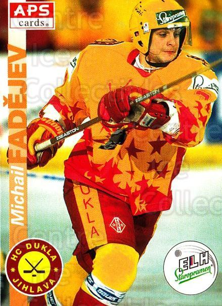 1996-97 Czech APS Extraliga #333 Michail Fadejev<br/>1 In Stock - $2.00 each - <a href=https://centericecollectibles.foxycart.com/cart?name=1996-97%20Czech%20APS%20Extraliga%20%23333%20Michail%20Fadejev...&quantity_max=1&price=$2.00&code=608525 class=foxycart> Buy it now! </a>