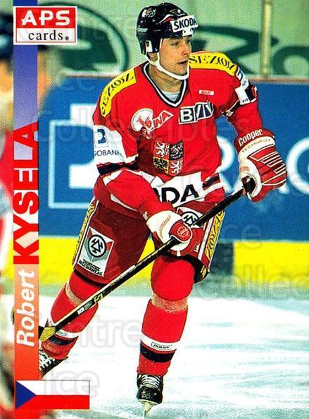 1996-97 Czech APS Extraliga #339 Robert Sysela<br/>2 In Stock - $2.00 each - <a href=https://centericecollectibles.foxycart.com/cart?name=1996-97%20Czech%20APS%20Extraliga%20%23339%20Robert%20Sysela...&quantity_max=2&price=$2.00&code=608531 class=foxycart> Buy it now! </a>
