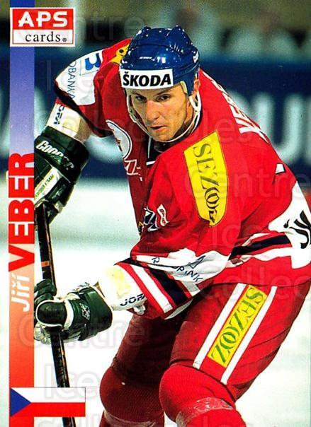 1996-97 Czech APS Extraliga #340 Jiri Veber<br/>1 In Stock - $2.00 each - <a href=https://centericecollectibles.foxycart.com/cart?name=1996-97%20Czech%20APS%20Extraliga%20%23340%20Jiri%20Veber...&quantity_max=1&price=$2.00&code=608532 class=foxycart> Buy it now! </a>