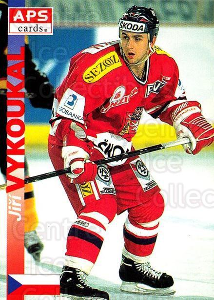 1996-97 Czech APS Extraliga #346 Jiri Vykoukal<br/>2 In Stock - $2.00 each - <a href=https://centericecollectibles.foxycart.com/cart?name=1996-97%20Czech%20APS%20Extraliga%20%23346%20Jiri%20Vykoukal...&quantity_max=2&price=$2.00&code=608538 class=foxycart> Buy it now! </a>