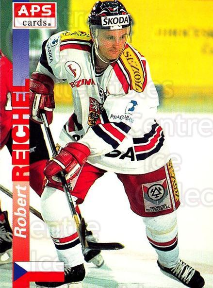 1996-97 Czech APS Extraliga #349 Robert Reichel<br/>1 In Stock - $3.00 each - <a href=https://centericecollectibles.foxycart.com/cart?name=1996-97%20Czech%20APS%20Extraliga%20%23349%20Robert%20Reichel...&quantity_max=1&price=$3.00&code=608541 class=foxycart> Buy it now! </a>