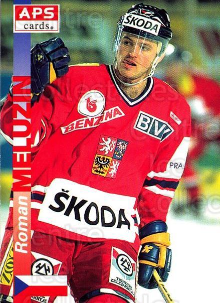 1996-97 Czech APS Extraliga #350 Roman Meluzin<br/>1 In Stock - $2.00 each - <a href=https://centericecollectibles.foxycart.com/cart?name=1996-97%20Czech%20APS%20Extraliga%20%23350%20Roman%20Meluzin...&quantity_max=1&price=$2.00&code=608542 class=foxycart> Buy it now! </a>