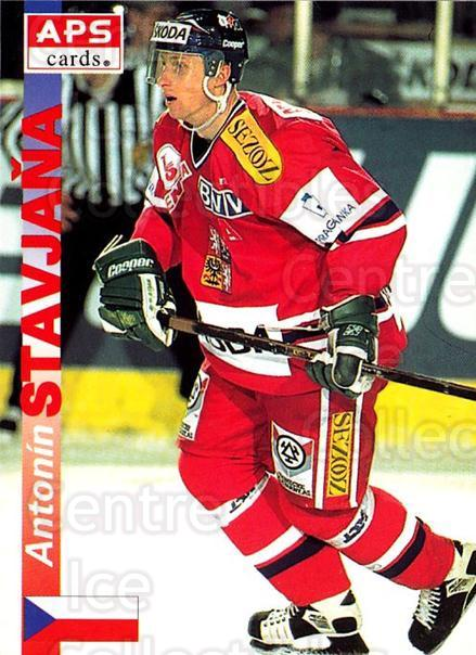 1996-97 Czech APS Extraliga #354 Antonin Stavjana<br/>1 In Stock - $2.00 each - <a href=https://centericecollectibles.foxycart.com/cart?name=1996-97%20Czech%20APS%20Extraliga%20%23354%20Antonin%20Stavjan...&quantity_max=1&price=$2.00&code=608546 class=foxycart> Buy it now! </a>