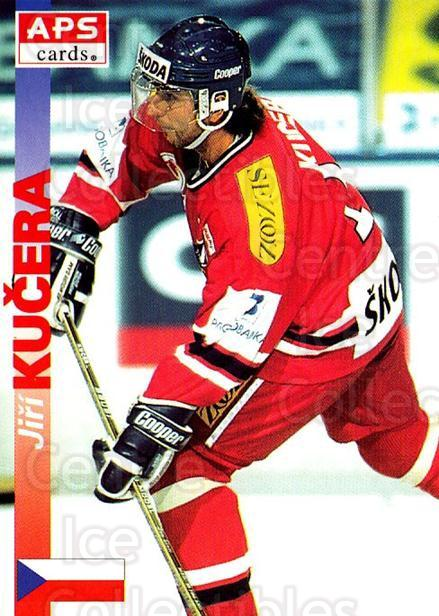 1996-97 Czech APS Extraliga #356 Jiri Kucera<br/>1 In Stock - $2.00 each - <a href=https://centericecollectibles.foxycart.com/cart?name=1996-97%20Czech%20APS%20Extraliga%20%23356%20Jiri%20Kucera...&quantity_max=1&price=$2.00&code=608548 class=foxycart> Buy it now! </a>